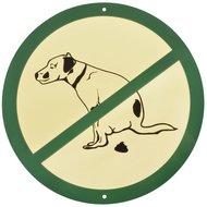 Esschert Hundekot Schild 23,5x0,2x23,5cm