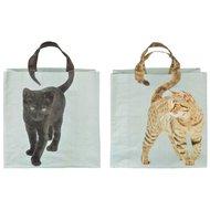 Esschert Einkaufstasche Katzenschwanz Assorti 39x14x39cm