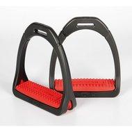 Compositi Stirrups Profile Premium Red