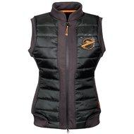 Harrys Horse Bodywarmer Equestrian Society Orange Zwart/Grijs/Oranje