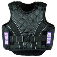 Harrys Horse Bodyprotector Flexfit Junior Zwart M