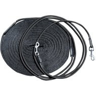 Harrys Horse Double Lunging Draw Reins Black
