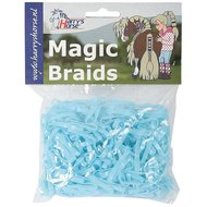 Harrys Horse Einflechtgummis Magic Braids Beutel Licht Blau