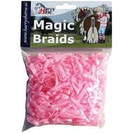 Harrys Horse Einflechtgummis Magic Braids Beutel Rosa