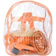 Harrys Horse Grooming Kit Backpack Orange