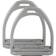 Harrys Horse Stirrups Compositi Reflex Grey Adult