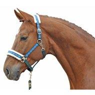 HKM Halster Vivien Voering Bruin Geruit Koudbloed paard
