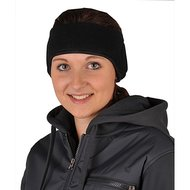 HKM Fleece Oorverwarmer Zwart universelemaat