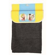 HKM Handdoek Voor Ruiters/paarden Zwart 50 X 100cm