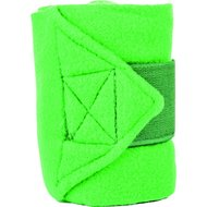 HKM Polarfleece Bandages in Tas Licht Groen