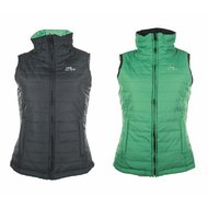 HKM Bodywarmer Double Face Groen/marineblauw
