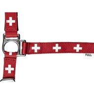 HKM Nylonhalfter Flags mit Karabinerhaken Flagge Schweiz