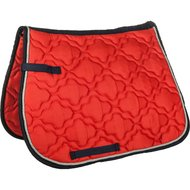 HKM Saddle Clothequestrian red/dark blue