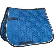 HKM Saddle Clothequestrian light blue/dark blue