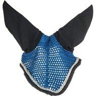 HKM Oornet Equestrian lichtblauw/donkerblauw