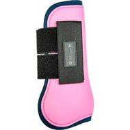 HKM Peesbeschermers Premium voorbenen Roze/Donkerblauw