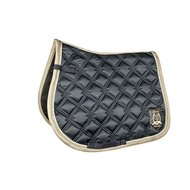 HKM Saddle Cloth Gol. G. Darkblue
