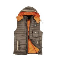 Kingston Bodywarmer San Francisco Donkerbruin