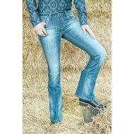 HKM Western Jeans bootcut Richmond Jeansblau