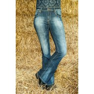 Hkm Western Jeans Bootcut Florida Jeansblauw