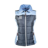 HKM Pro Team Gilet Intern. light blue/dark blue