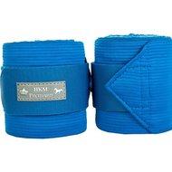 HKM Pro Team Combibandages Premium Kobaltblauw 345 cm