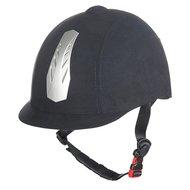 HKM Cap New Air Stripe verstelbaar Zwart