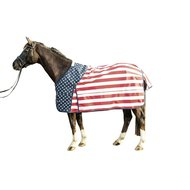 Hkm Outdoordeken Stars&stripes Polarfleece Vlag usa