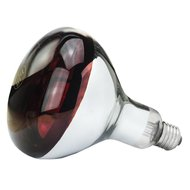 Lamp 150 W/rood Hard Glas