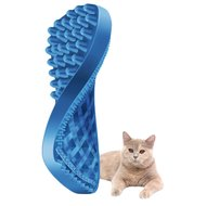 Pet+Me Cat Short Hair Brush Blauw