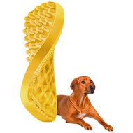 Pet+Me Dog Short Hair Brush Geel