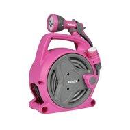 Pink Pico Reel Slangbox incl 10m Slangstartset en Spraygun