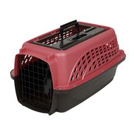 Petmate 2 Door Top Load Kennel (<4,5kg) Roze/bruin 48cm