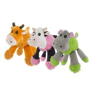 Fuzzle Giraffe With 5 Squeakers