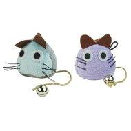 Crazy Cat Funny Mouse Vol Met Catnip Lila
