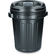 Agradi Food container with a Screw-on Lid Black 40L