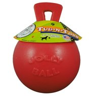 Jolly Ball Tug-n-Toss Rood