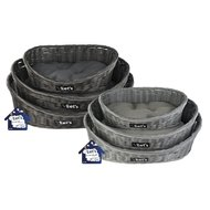 Let's Sleep Pet Bed Dark Grey