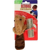 Kong Hervulbare Bever Catnip 14cm