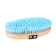 Horka Body Brush Wood Soft Light Blue