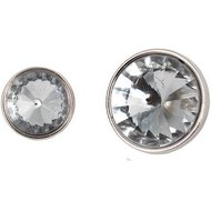 Horka Button Bling Silver