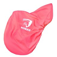 Horka Saddle Cover With Horka Logo's Roze