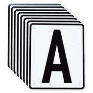 Horka Dressuur Letters Basis Set van 8 Zwart