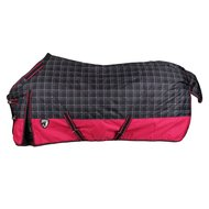 Horka Winter Rug 600d Check Fuchsia/black