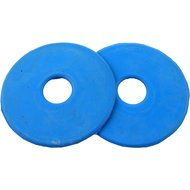 Horka Bit Ringen Rubber per Paar Light Blue