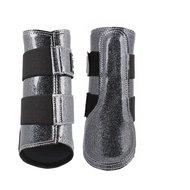 Horka Beenbeschermers Glitter Zwart XL