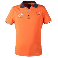 Horka Herren Polo Shirt Solid Orange