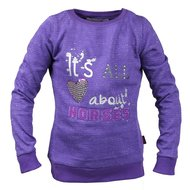 Red Horse Fancy Sweatshirt Viola
