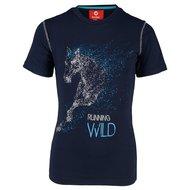 Red Horse Shirt Caliber Night Blue
