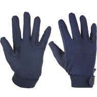 Red Horse Cotton Handschoenen Blauw